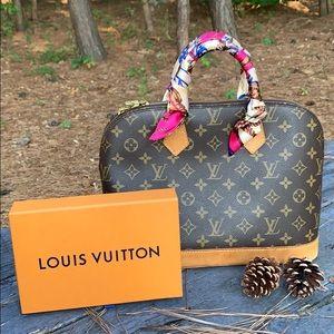 💯 Authentic Louis Vuitton Alma Monogram